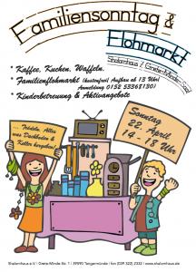 Familiensonntag Flohmarkt So 22 April 14 18 Uhr Kaffee